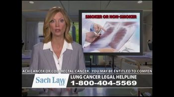 Sach Law TV Spot, 'Lung Cancer' - Thumbnail 8