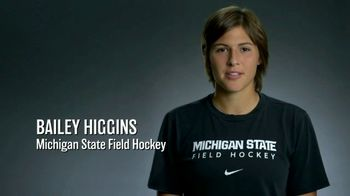 Big Ten Conference TV Spot, 'Faces of the Big Ten: Bailey Higgins'
