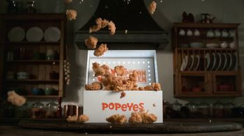 Popeyes $4 Popcorn Chicken TV Spot, 'Perfectly Poppable' - 2724 commercial airings