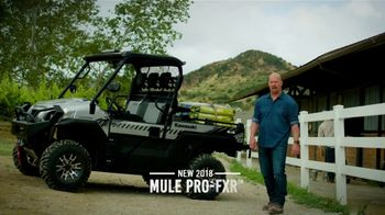 2018 Kawasaki MULE PRO-FXR TV Spot, 'Like a Boss' Featuring Steve Austin - Thumbnail 2
