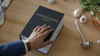 Progresso Soup TV Spot, 'Elegant Words'