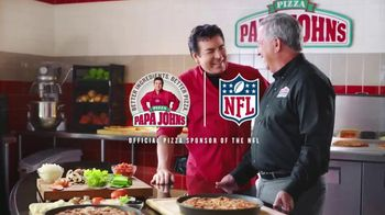 Papa John's Philly Pizzas TV Spot, 'Chief Ingredient Officer' - Thumbnail 7