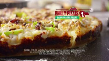 Papa John's Philly Pizzas TV Spot, 'Chief Ingredient Officer' - Thumbnail 4