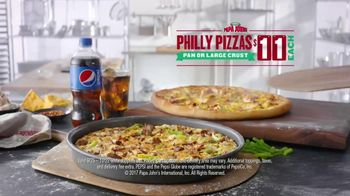 Papa John's Philly Pizzas TV Spot, 'Chief Ingredient Officer' - Thumbnail 6