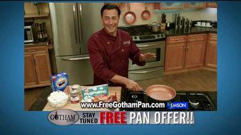 Gotham Steel TV Spot, 'Cooking on Air: Free Pan Offer' Feat. Daniel Green
