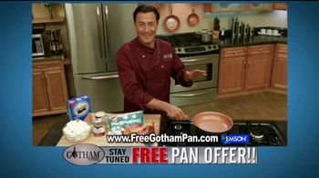 Gotham Steel TV Spot, 'Cooking on Air: Free Pan Offer' Feat. Daniel Green - 587 commercial airings