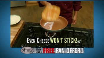 Gotham Steel TV Spot, 'Cooking on Air: Free Pan Offer' Feat. Daniel Green - Thumbnail 6