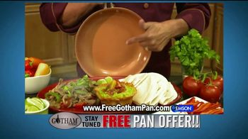 Gotham Steel TV Spot, 'Cooking on Air: Free Pan Offer' Feat. Daniel Green - Thumbnail 7