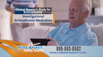 Radiant Clinical Research TV Spot, 'Schizophrenia Study'