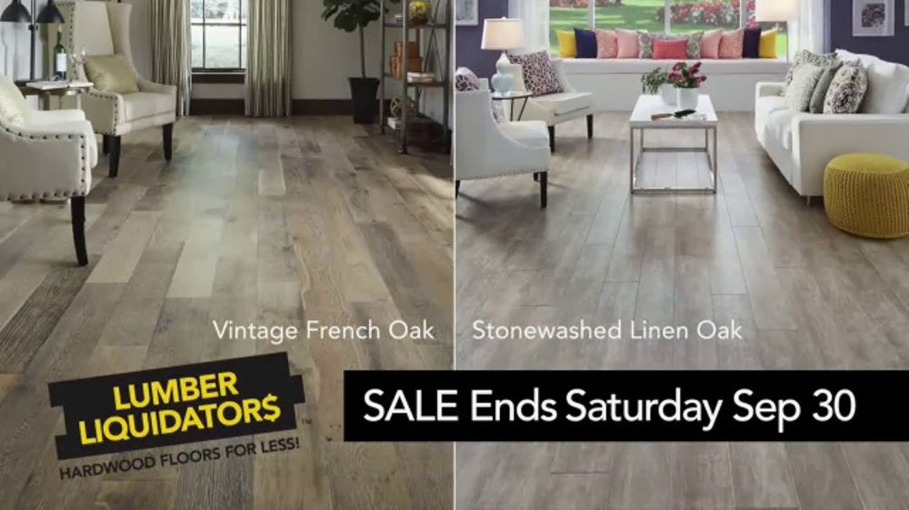 Lumber Liquidators Yellow Tag Clearance Sale Tv Commercial