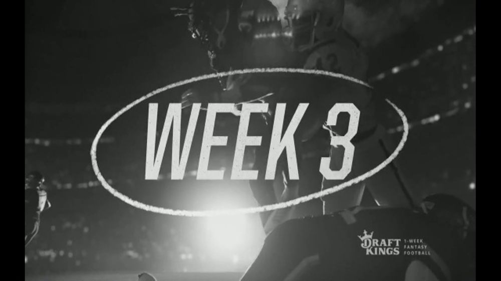 DraftKings TV Commercial, 'Speed of Sports Week Two Sunday'