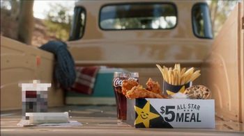 Carl\'s Jr. $5 All Star Meal TV Spot, \'Diesel and Sadness\'