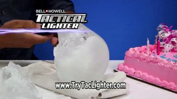Bell + Howell Tactical Lighter TV Spot, 'Tough as a Tank' Feat. Nick Bolton - Thumbnail 4