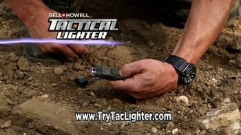 Bell + Howell Tactical Lighter TV Spot, 'Tough as a Tank' Feat. Nick Bolton - Thumbnail 7