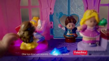 Little People Disney Princess Magical Wand Palace TV Spot, 'Pure Magic' - Thumbnail 7