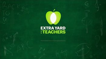 College Football Playoff Foundation TV Spot, 'Extra Yard for Teachers' - Thumbnail 1