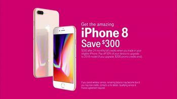 T-Mobile TV Spot, 'Never Stops: iPhone 8' - Thumbnail 9