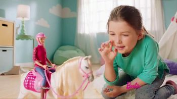 Barbie DreamHorse TV Spot, 'Eats, Walks and Dances' - Thumbnail 2