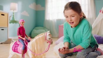 Barbie DreamHorse TV Spot, 'Eats, Walks and Dances' - Thumbnail 3