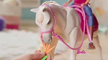 Barbie DreamHorse TV Spot, 'Eats, Walks and Dances' - Thumbnail 4