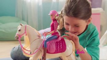 Barbie DreamHorse TV Spot, 'Eats, Walks and Dances'