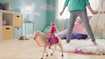 Barbie DreamHorse TV Spot, 'Eats, Walks and Dances' - Thumbnail 6