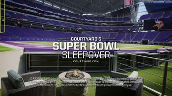 Courtyard Marriott Sleepover Contest TV Spot, 'Wake Up at Super Bowl LII' - Thumbnail 8