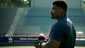 USAA TV Spot, 'USAA Member Voices: Clinton McDonald' - Thumbnail 1