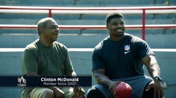 USAA TV Spot, 'USAA Member Voices: Clinton McDonald' - Thumbnail 3
