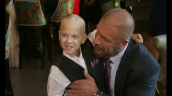 Connor's Cure TV Spot, 'Kick Cancer's Butt' Featuring Triple H
