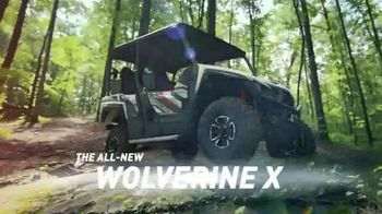 Yamaha Wolverine X4 TV Spot, 'Comfort, Confidence and Excitement'