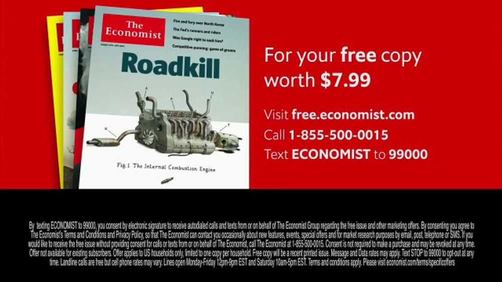 The Economist TV Commercial, 'Seeing Clearly'