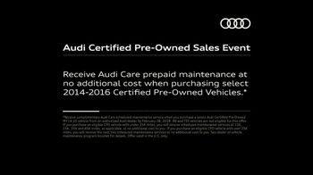 Audi Certified Pre-Owned Sales Event TV Spot, 'Second Owners Rest Easy' [T2] - Thumbnail 8