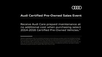 Audi Certified Pre-Owned Sales Event TV Spot, 'Second Owners Rest Easy' [T2] - Thumbnail 9