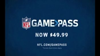 NFL Game Pass TV Spot, 'Never Miss a Thing: Lower Price' - Thumbnail 10