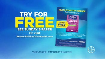 Phillips Colon Health Probiotic Caps TV Spot, 'Cubicle: Rebate' - Thumbnail 10