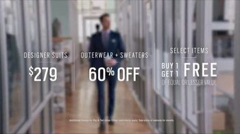Men's Wearhouse TV Spot, 'First Day: Designer Suits' - Thumbnail 5