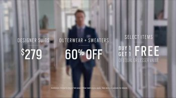 Men's Wearhouse TV Spot, 'First Day: Designer Suits' - Thumbnail 6