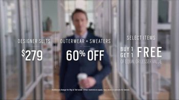 Men's Wearhouse TV Spot, 'First Day: Designer Suits' - Thumbnail 7