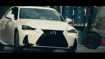 Lexus IS TV Spot, 'Break Away' [T1] - 4545 commercial airings