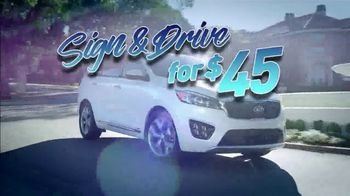 Sign and Drive for 45 TV Spot, 'Drive Away Today' - Thumbnail 1