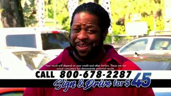 Sign and Drive for 45 TV Spot, 'Drive Away Today' - Thumbnail 4