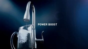 Moen Power Boost TV Spot, 'Inspired by Speed. Innovated by Moen'