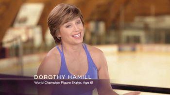 Crepe Erase TV Spot, 'Figure Skating' Featuring Dorothy Hamill - Thumbnail 2