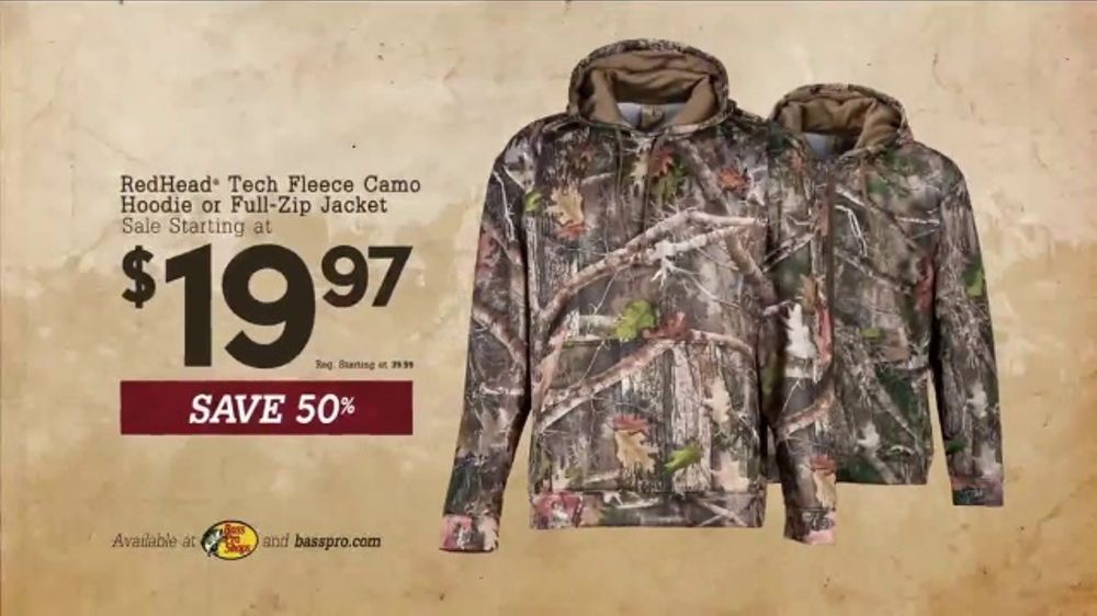 327674a8977ae Bass Pro Shops Bring in the New Sale TV Commercial, 'Camo Jackets and  Smokers' - iSpot.tv
