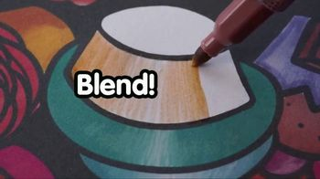 Blendy Pens TV Spot, 'Twist to Create Color Fusion' - Thumbnail 8