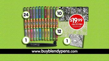 Blendy Pens TV Spot, 'Twist to Create Color Fusion' - Thumbnail 7