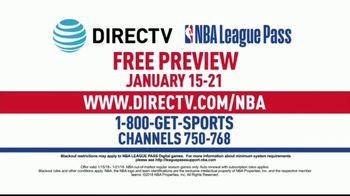 DIRECTV TV Spot, 'NBA League Pass: Free Preview Week' - Thumbnail 8