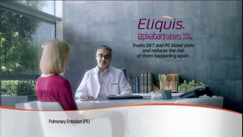 ELIQUIS TV Commercial, 'A Lot on My Mind'