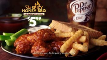 Zaxby's Boneless Wings Meal TV Spot, 'Popularity' - Thumbnail 9
